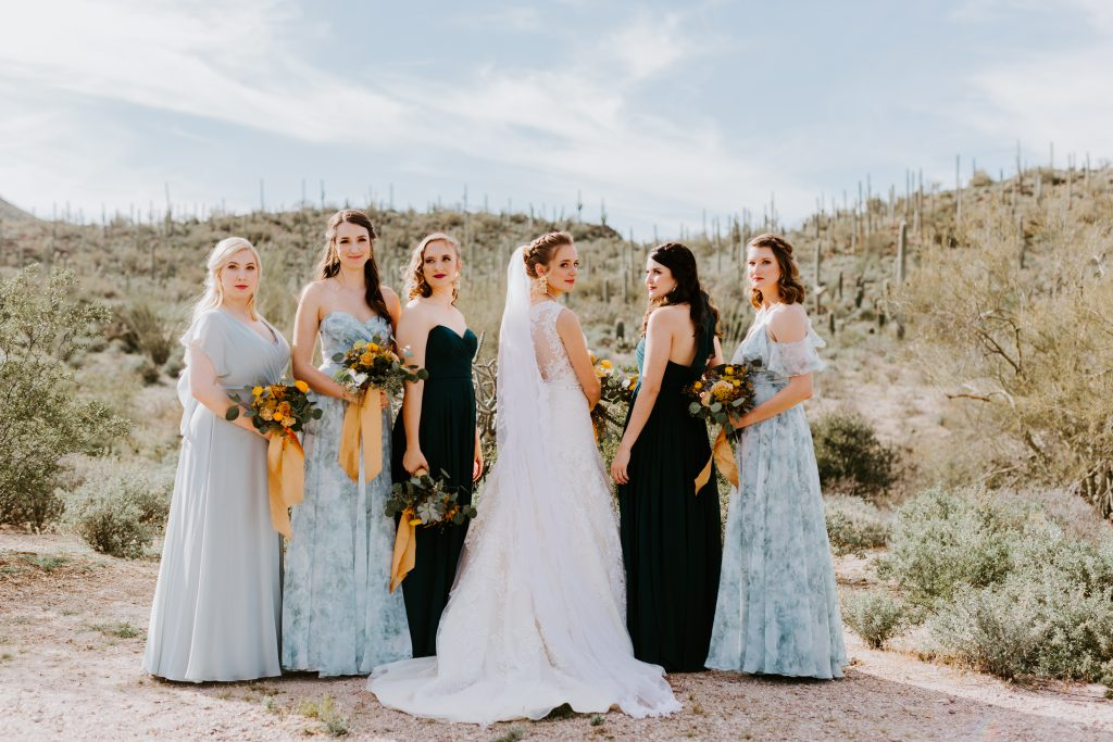 <strong>Belle of the Ball:</strong> Bella Bridesmaids Scottsdale